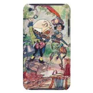 Humpty Dumpty en el país de las maravillas Case-Mate iPod Touch Protectores