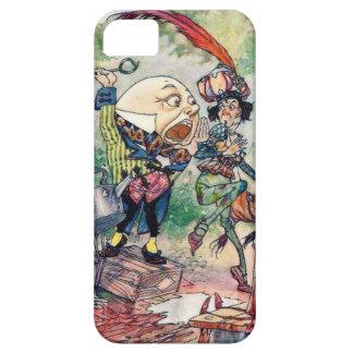 Humpty Dumpty en el país de las maravillas iPhone 5 Carcasa