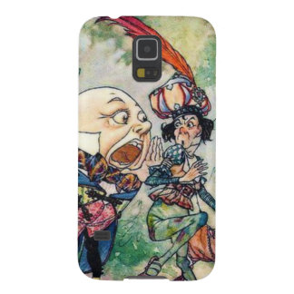 Humpty Dumpty en el país de las maravillas Fundas Para Galaxy S5