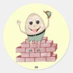 Humpty Dumpty Etiqueta