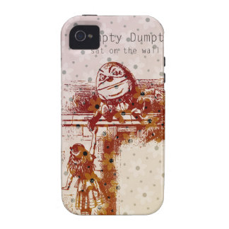 Humpty Dumpty iPhone 4/4S Carcasa