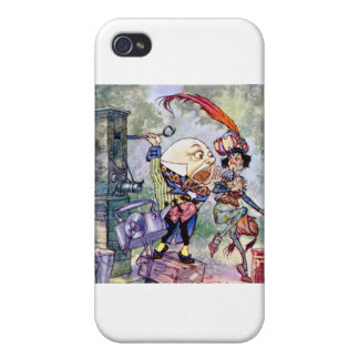 Humpty Dumpty Gets Loud In Wonderland iPhone 4/4S Cases