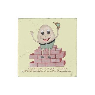 Humpty Dumpty Stone Magnet