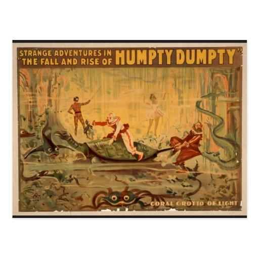 "Humpty Dumpty, ""gruta coralina"" de Theat retro Postales"