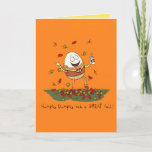Humpty Dumpty Had a Great Fall Greeting Card (Visit shop for more cute pun themed cards)