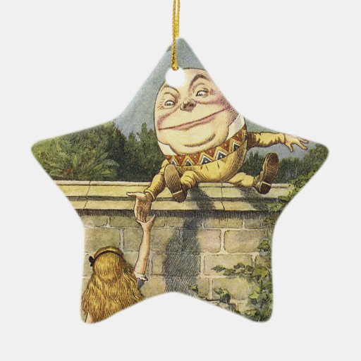 Humpty Dumpty Holiday Ornimate Ornament