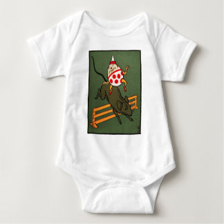 Humpty Dumpty: Humpty Rides A Mouse Baby Bodysuit
