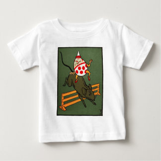 Humpty Dumpty: Humpty Rides A Mouse Baby T-Shirt