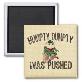 Humpty Dumpty Imán Cuadrado