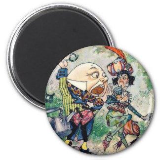 Humpty Dumpty in Wonderland 2 Inch Round Magnet