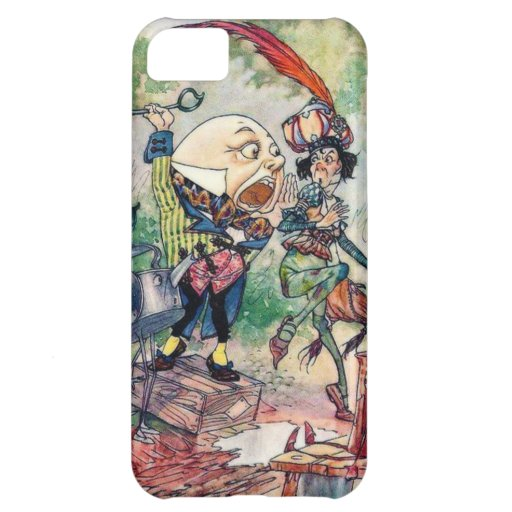 Humpty Dumpty in Wonderland Cover For iPhone 5C