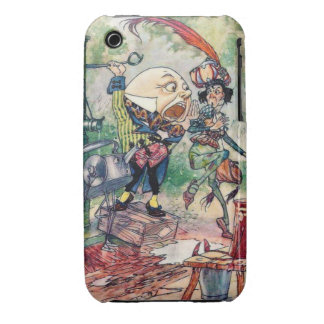 Humpty Dumpty in Wonderland iPhone 3 Case-Mate Case