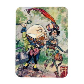Humpty Dumpty in Wonderland Rectangular Photo Magnet