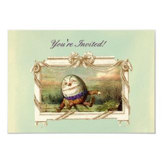 """Humpty Dumpty Invitación 3.5"""" X 5"""""""