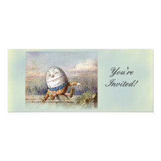 """Humpty Dumpty Invitación 4"""" X 9.25"""""""