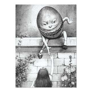 """Humpty Dumpty Invitación 5.5"""" X 7.5"""""""