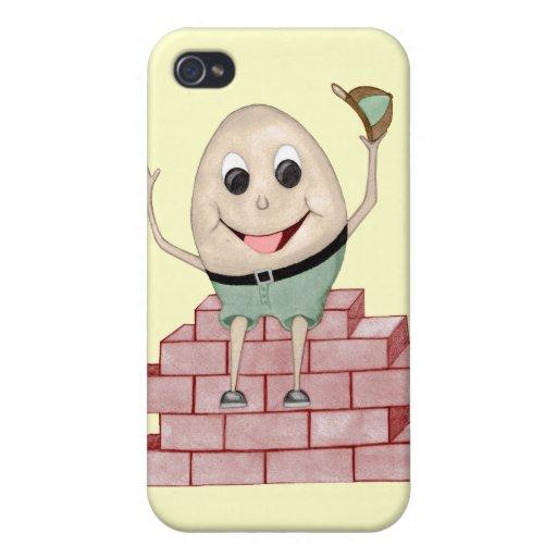 Humpty Dumpty iPhone 4/4S Carcasas