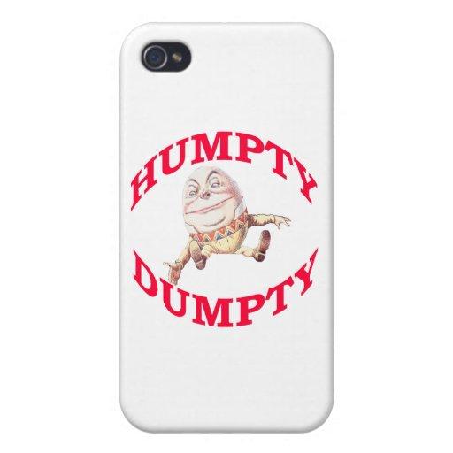 Humpty Dumpty iPhone 4 Funda