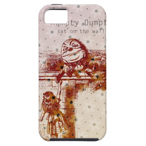 Humpty Dumpty iPhone 5 Case-Mate Protectores
