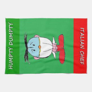 HUMPTY DUMPTY & ITALIAN CHEF T-TOWEL