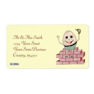 Humpty Dumpty Label