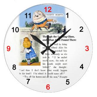 Humpty Dumpty Large Clock