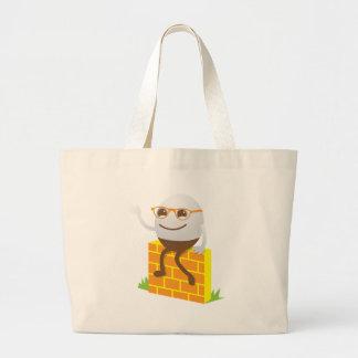 Humpty Dumpty Large Tote Bag
