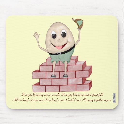 Humpty Dumpty Mouse Pad