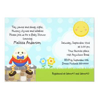 Humpty Dumpty Nursery Rhyme Baby Shower Card