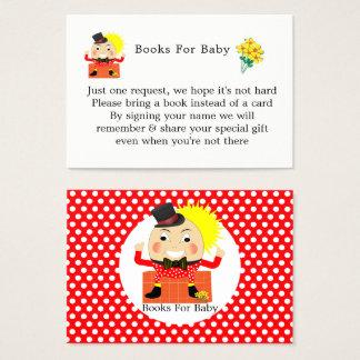 Humpty Dumpty Nursery Rhyme Cute  Books For Baby Business Card