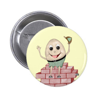 Humpty Dumpty Pinback Button