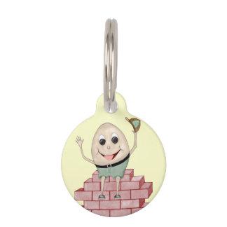 Humpty Dumpty Placa Para Mascotas