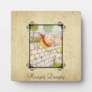 Humpty Dumpty Plaque