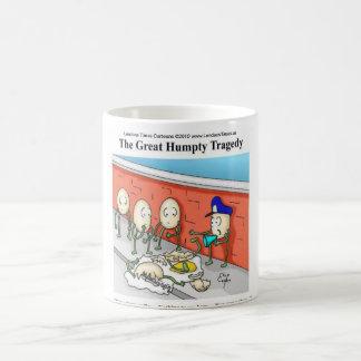 Humpty Dumpty Police Investigation Funny Gifts Mug