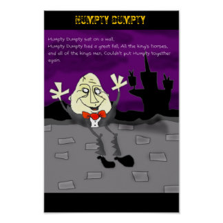Humpty Dumpty Póster