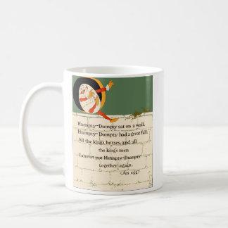 Humpty Dumpty Rhyme Classic White Coffee Mug