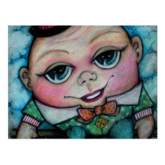 Humpty Dumpty Rhyme Time Postcard