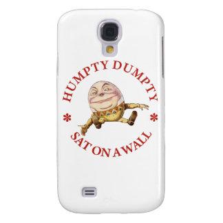 Humpty Dumpty Sat en una pared Carcasa Para Galaxy S4