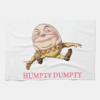 Humpty Dumpty Sat en una pared Toalla