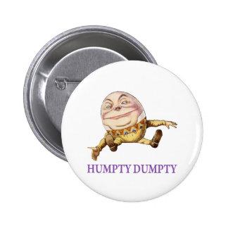 Humpty Dumpty Sat en una pared Pin
