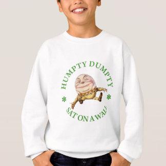 HUMPTY DUMPTY SAT EN UNA PARED - POESÍA INFANTIL SUDADERA