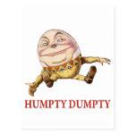 HUMPTY DUMPTY SAT EN UNA PARED - POESÍA INFANTIL POSTALES