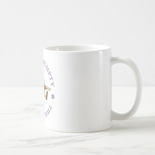 HUMPTY DUMPTY SAT EN UNA PARED - POESÍA INFANTIL TAZA DE CAFÉ