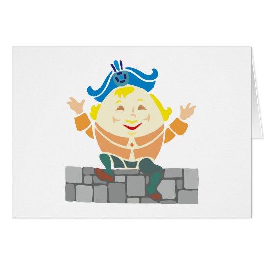Humpty Dumpty sat on A embankment… Card