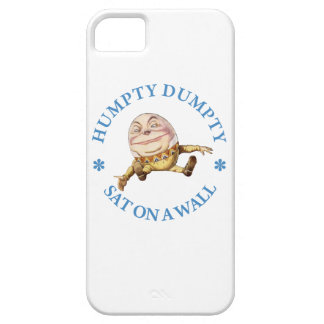 Humpty Dumpty Sat On A Wall iPhone 5 Case