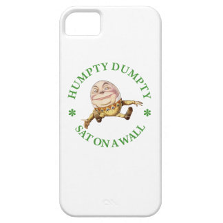 Humpty Dumpty Sat on a Wall iPhone 5 Cover