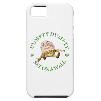 Humpty Dumpty Sat on a Wall iPhone 5 Covers