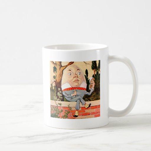 Humpty Dumpty Sat On a Wall in Wonderland Mugs