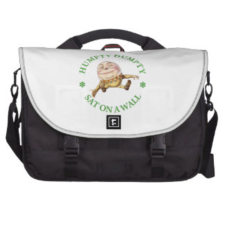 Humpty Dumpty Sat on a Wall Laptop Bag