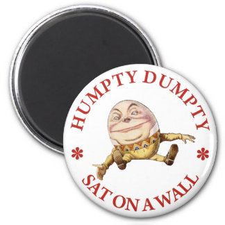 HUMPTY DUMPTY SAT ON A WALL - NURSERY RHYME REFRIGERATOR MAGNETS
